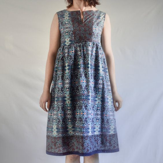 Patchwork Dress by WrapsRingsandThings on Etsy