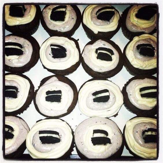 Homemade Oreo Cupcakes