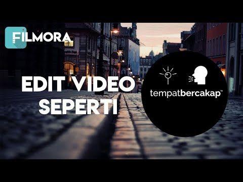 Edit Video Seperti Instagram Tempat Bercakap Di Filmora Youtube Instagram Tempat Film