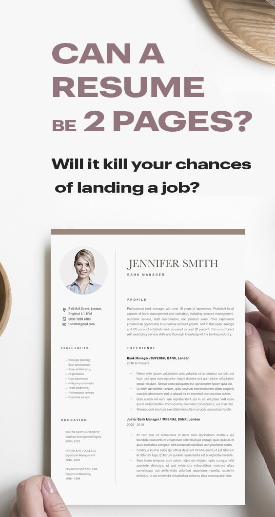 Can A Resume Be 2 Pages Tips Tricks Resumeway Resume Advice Resume Tips Future Jobs