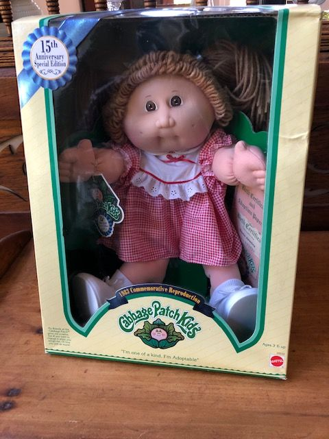 Vintage 15th Anniversary Special Edition Cabbage Patch Kids Etsy Cabbage Patch Kids Patch Kids Red Gingham