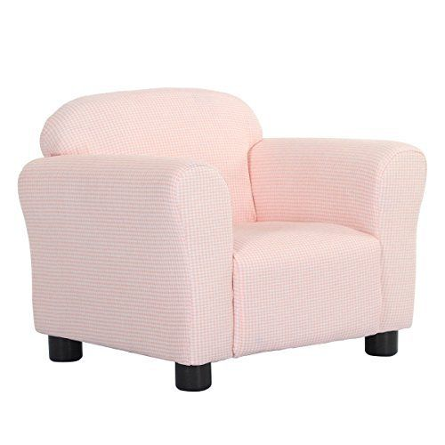 Costzon Kids Sofa Premium Kids Chair Pink Kids Sofa Chair
