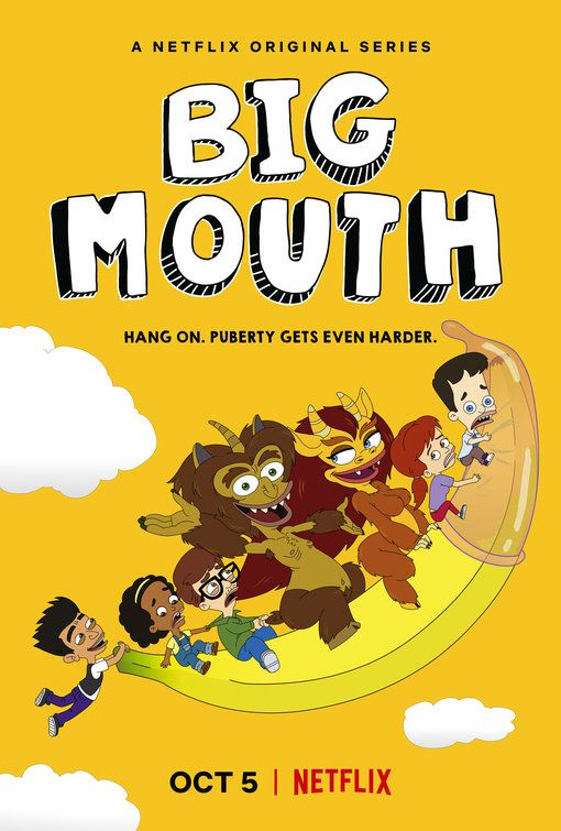 Click To View Extra Large Poster Image For Big Mouth Big Mouth Netflix Mouth