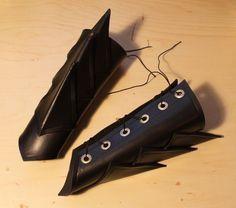 Craft Foam Bracers (DIY)