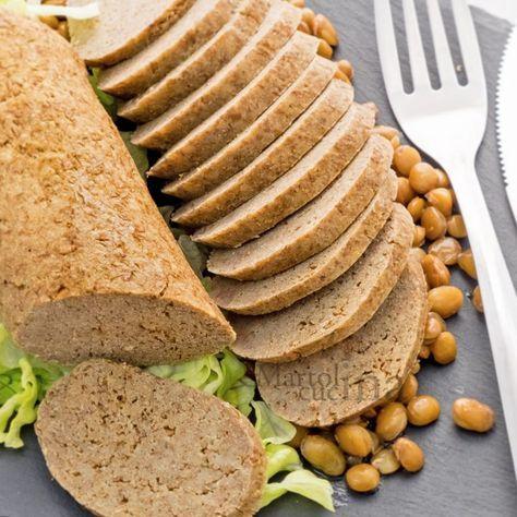 Polpettone Di Lenticchie Ricetta Facile Secondo Vegetariano Ricetta Ricette Ricette Di Cucina Cibo