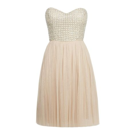 pale pink studded/rhinestone dress Wouldn't mind this in my closet :)
