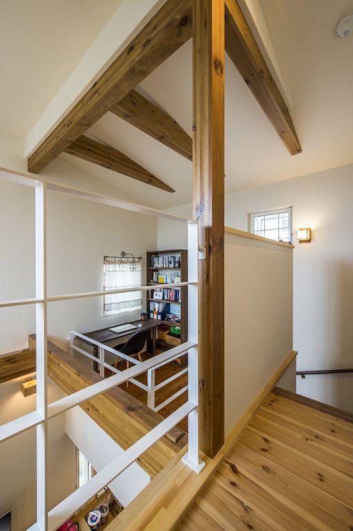 中二階を取り入れた家 北欧スタイル 注文住宅の事例写真 デザイン集 株式会社スペースラボ 画像あり 家 注文住宅 住宅