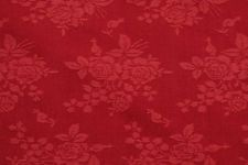 "By the yard Fabricut Berry Floral Cotton Damask Drapery Upholstery Fabric 54"" w"