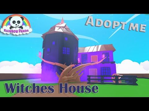Adopt Me Halloween House Cute Witches House Glitch Build Youtube Witch House Halloween House Adoption