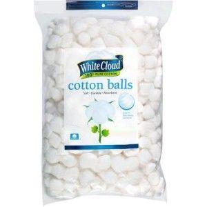 Walmart | Free White Cloud Cotton Balls