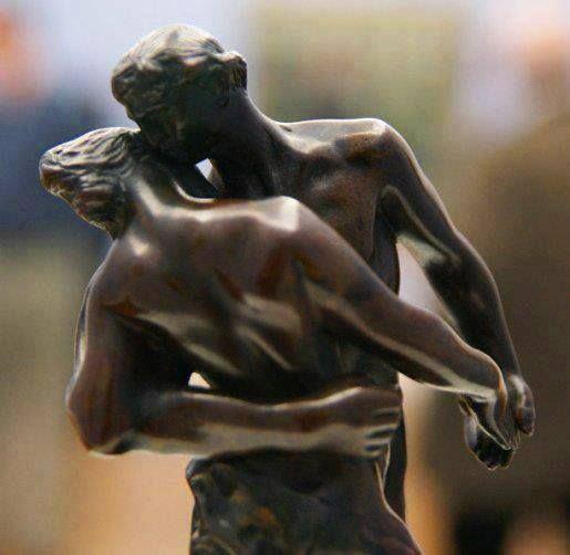 La Valse, by Camille Claudel (1864-1943) Bronze, Paris, Musée Rodin