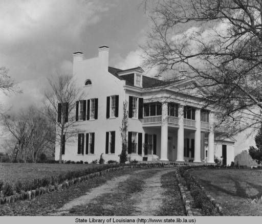 Abandoned Houses In Plymouth Ma: Richland Plantation Home In Norwood Louisiana Circa 1970s