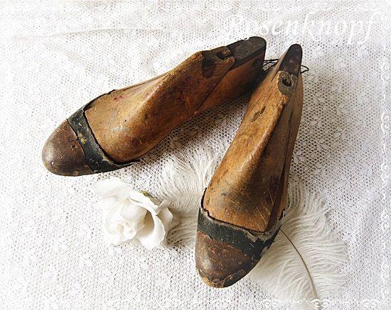 Schuhleisten Wood Slice Shoes Rohling Vintage Shabby Brocante Deco Decorative Decoration Home Decoration 1900 Wood Rine Holzleisten Shabby Und Deko