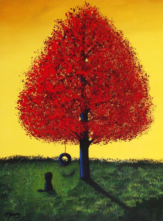 Portuguese Water Dog Outsider Folk art print by Todd Young SUMMER PLAY on Etsy, $19.95