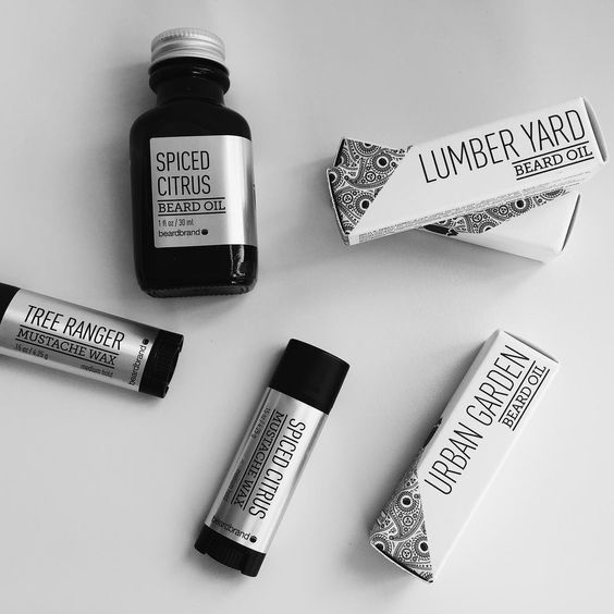 """""""We've got a few samples left of the new scents coming from @beardbrand. Take one home and see for yourself how lightweight and conditioning this stuff…"""""""