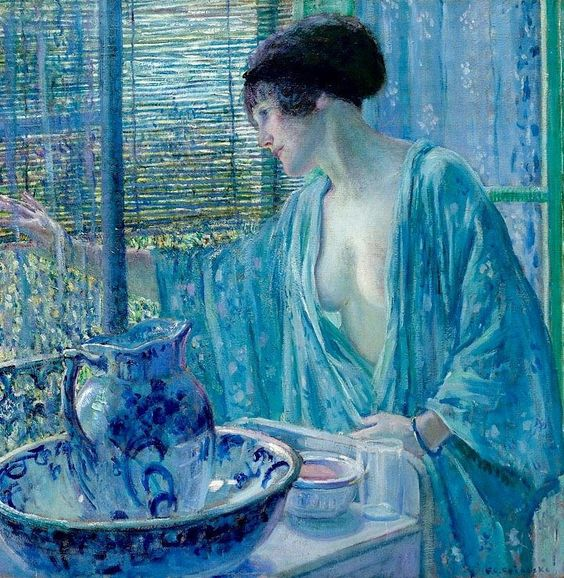 Frederick Carl Frieseke - Morning