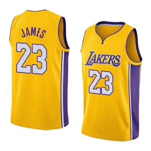 New Los Angeles Lakers Lebron James Jersey 23 Basketball Jersey Embroidery 2018 Basketball Jersey Lebron James Lakers