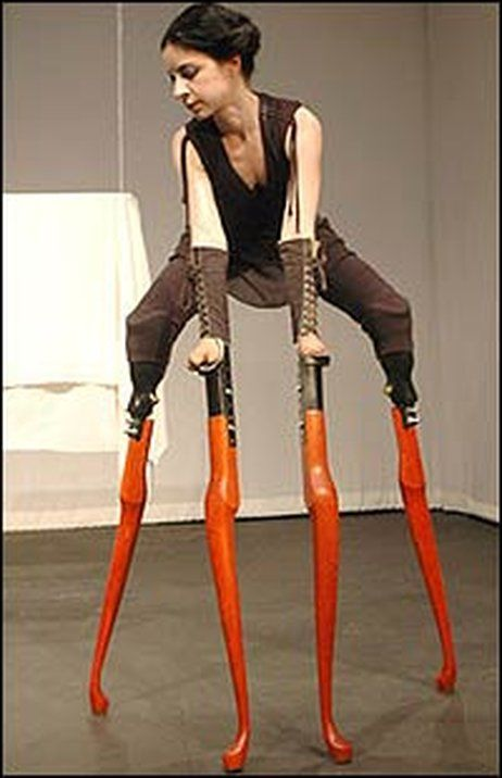Lisa Bufano - is a disabled American interdisciplinary performance artist whose work incorporates elements of doll-making, animation, and dance. After losing her fingers, thumbs and lower legs, Bufano began her performance and dancing career when a professor at the University of Linz doing research on the lives of amputees...