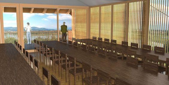 Jucker Farmart Seegräben Kanton Zürich  Auf Frühling 2013 wird das Obergeschoss des Schürlis zu einem neuen Event- und Seminarraum ausgebaut.  Das ehemalige Kornlager bietet Platz für bis zu 100 Personen und bietet ein luftiges Raumgefühl mit Terrasse und sensationeller Aussicht ins Zürcher Oberland.