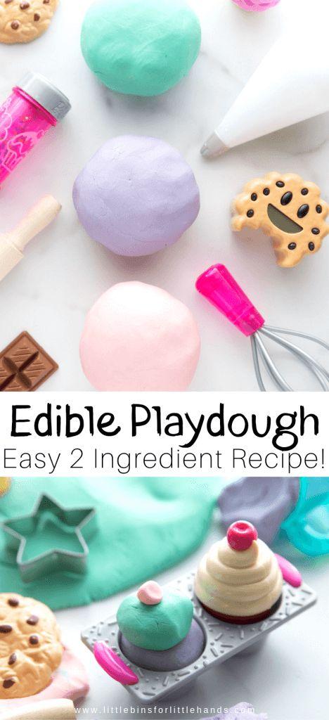 How To Make Playdough With Powdered Sugar