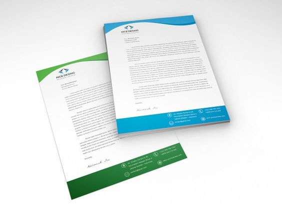 Image result for letterhead template 2018 Brand Identity Ideas - free resume templates for word 2018