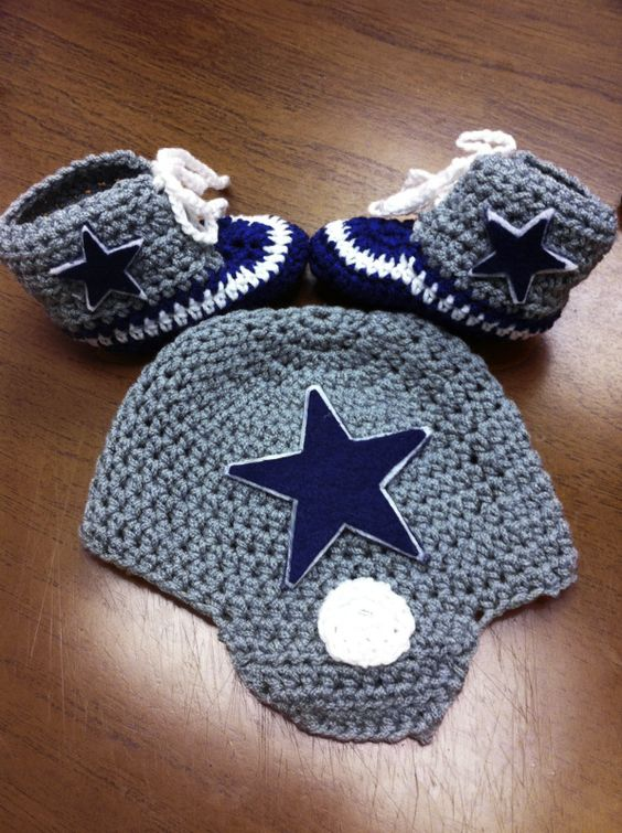 Dallas Cowboys Crochet Baby Hat Pattern : Pinterest The world s catalog of ideas