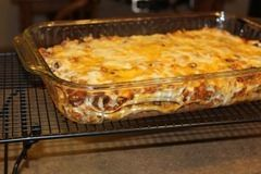 quesadilla casserole ( this is Lorena) made tonight, it was yummy, easy and can feed a family. I used corn tortillas, find they aren't as gummy as flour ones otherwise followed exactly.