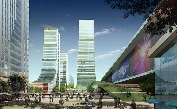 New City Master Plan - Changsha, China | Steinberg Architects
