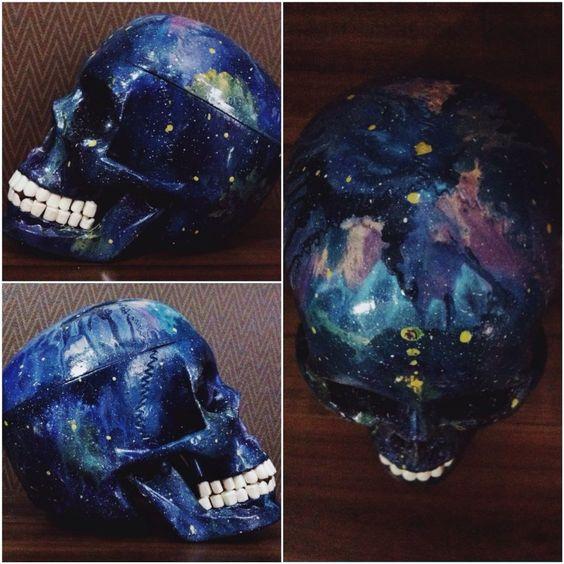 #skull #paskevicius #art #galaxy