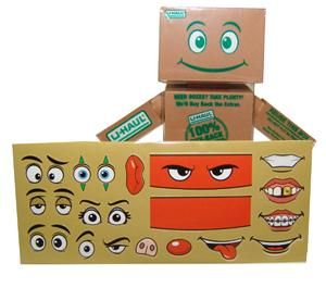 U Haul Boxman Toy Products Moving Supplies And Names