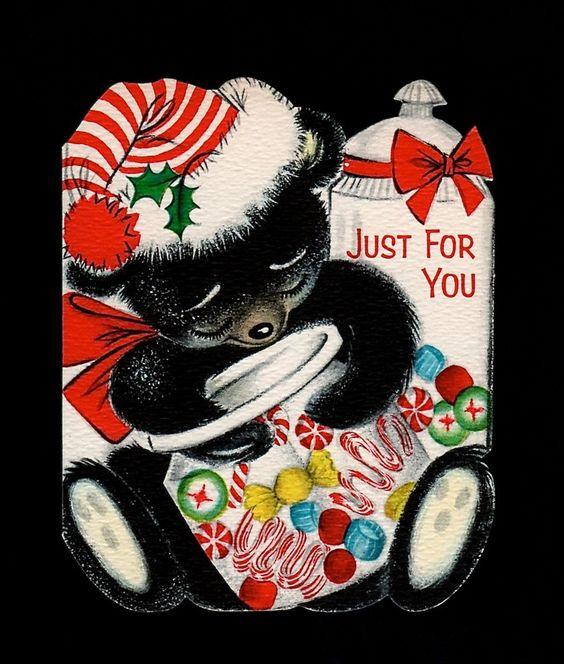 Unused Snowman Christmas Card ~  (KM 57)
