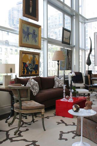 Eric Cohler's gorgeous NYC apartment.