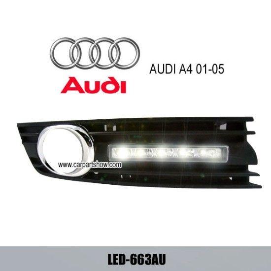 AUDI A6 A6L 2005 2008 DRL LED Daytime Running Lights Car headlight