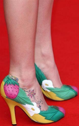 tipos de sapatos scarpin coloridos