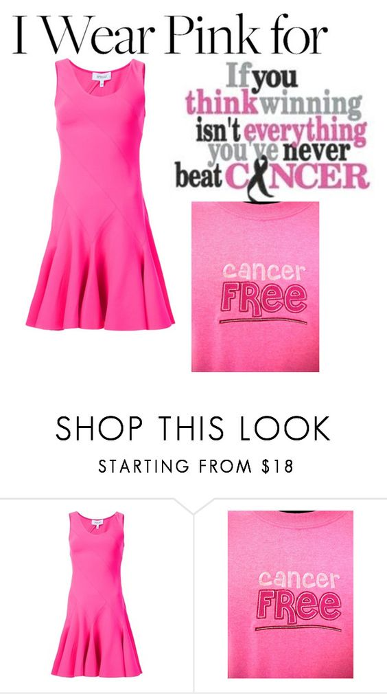 """I WEAR PINK FOR......ME!!!"" by ashleyyjames ❤ liked on Polyvore featuring 10 Crosby Derek Lam"