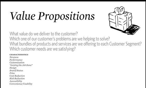 Value Proposition Examples  Iskanje Google  Bmc