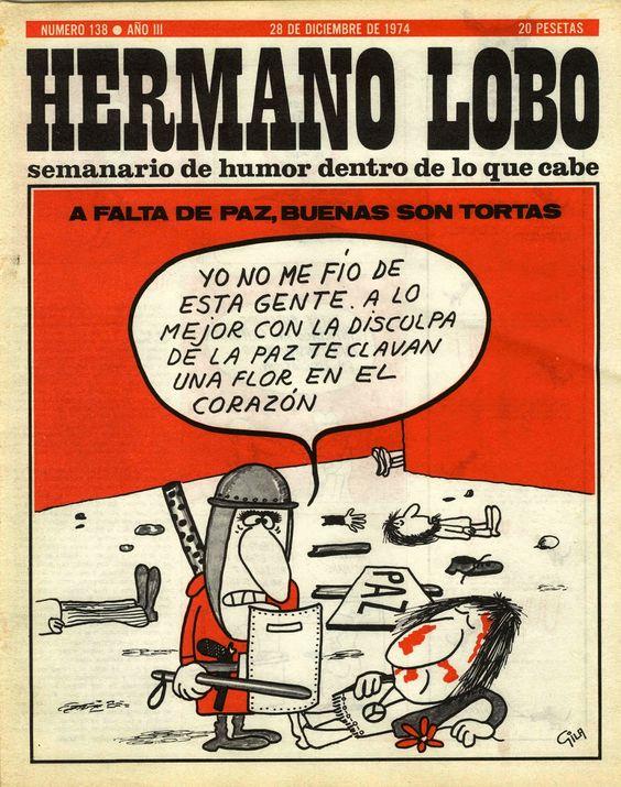 Tres revistas de los años 60, 70 y 80 #online > #HermanoLobo #Triunfo y #TiempoDeHistoria « KomunIKT-a