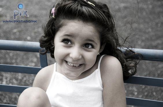 fotografía, retrato, niña, sonrisa