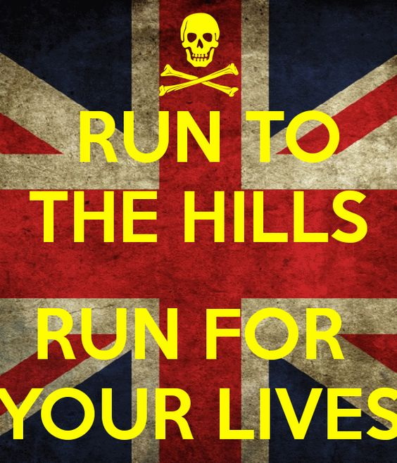 Iron Maiden | RUN TO THE HILLS RUN FOR YOUR LIVES -