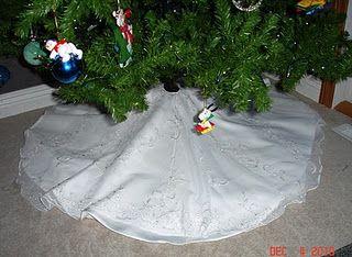 Tree skirts christmas tree skirts and wedding dress train on