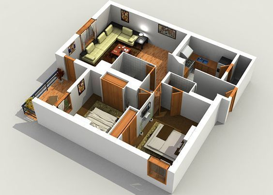 Luxury And Beautiful Online Home Plan In India Online Home Design Modern House Plans 3d House Plans