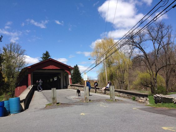 The covered bridge, great running in the Lehigh Parkway, Allentown, PA. #livethefuel