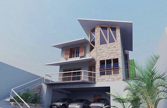 Fachadas de casas de sobrados – veja 50 modelos lindos!