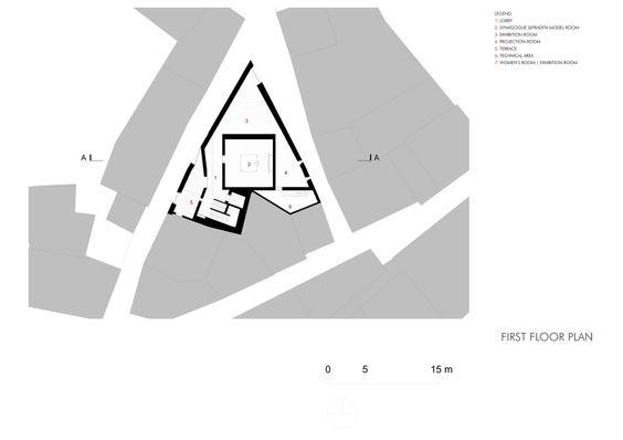 Center for Interpretation of Jewish Culture Isaac Cardoso. Location: Trancoso, Portugal; Architect:  Gonçalo Byrne Arquitectos, Lda., Oficina Ideias em linha – Arquitectura e Design, Lda; photo: FG + SG; year: 2012