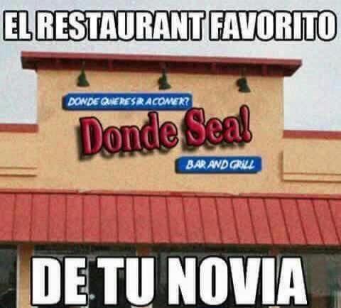 El restaurante favorito de todas las mujeres!!!!