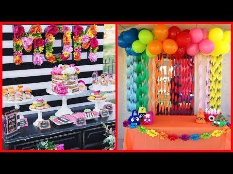 Latest Birthday Decoration Ideas Amazing Youtube Homemade