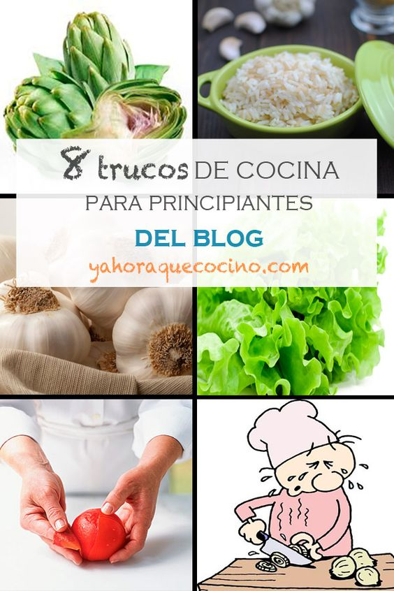 8 Trucos de Cocina para Principiantes, es una recopilación de los mejores trucos con alcachofas, para pelar tomates, para una lechuga crujiente, entre otros