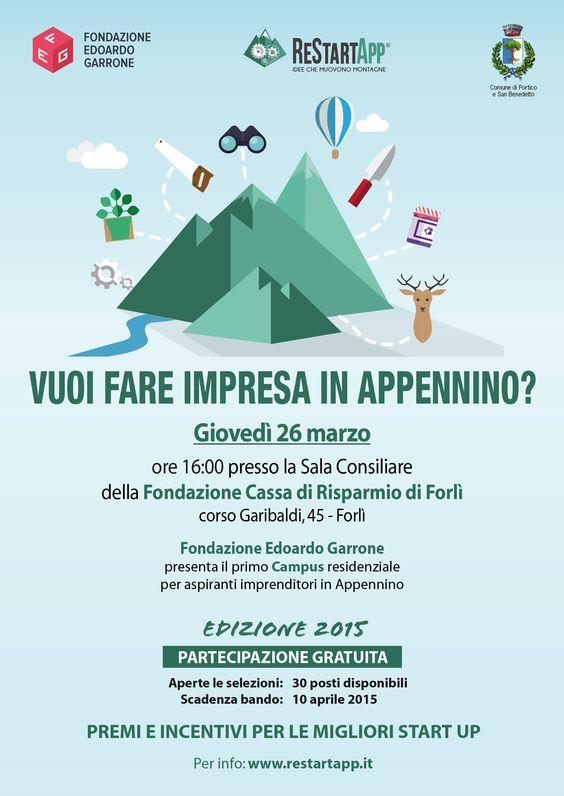 #ReStartApp appuntamento a Forlì il 26 marzo #startup #app  @FondEdoGarrone