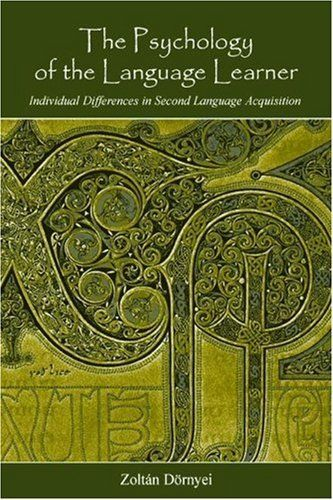 The Psychology of the Language Learner: Individual Differences in Second Language Acquisition (Second Language Acquisition Research Series) by Zoltán Dörnyei, http://www.amazon.com/dp/0805860185/ref=cm_sw_r_pi_dp_-di3rb1SN7VFX
