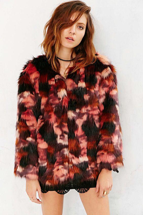 Ecote Molly Faux-Fur Coat | Coats, Seasons and Shops